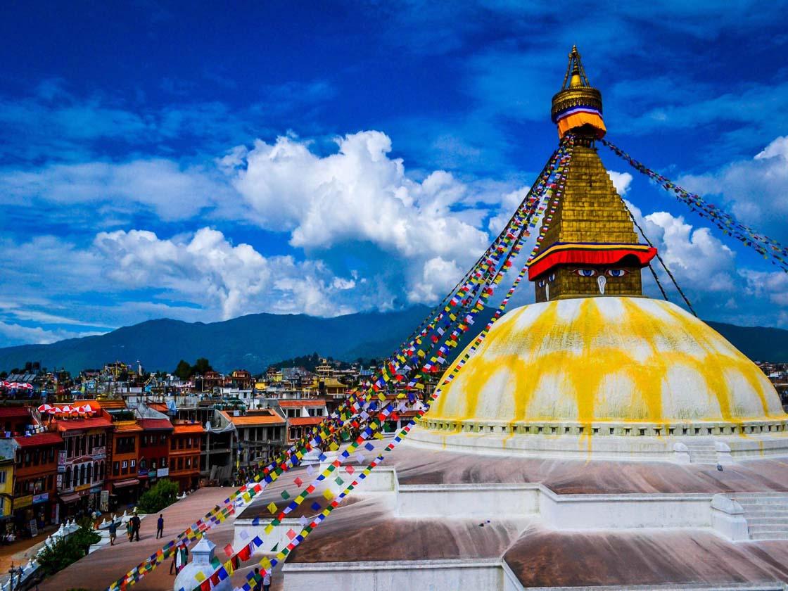 Glimpse  of Kathmandu